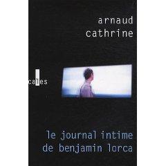 LE JOURNAL INTIME DE BENJAMIN LORCA – Arnaud Cathrine