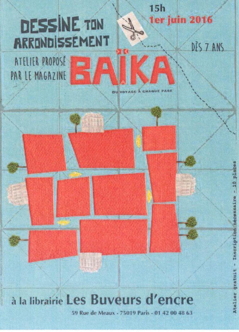 01/06 ATELIER BAIKA POUR LES ENFANTS