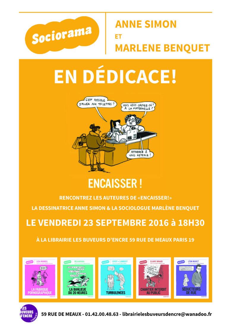 Vendredi 23/09 Rencontre Sociorama : BD & sociologie