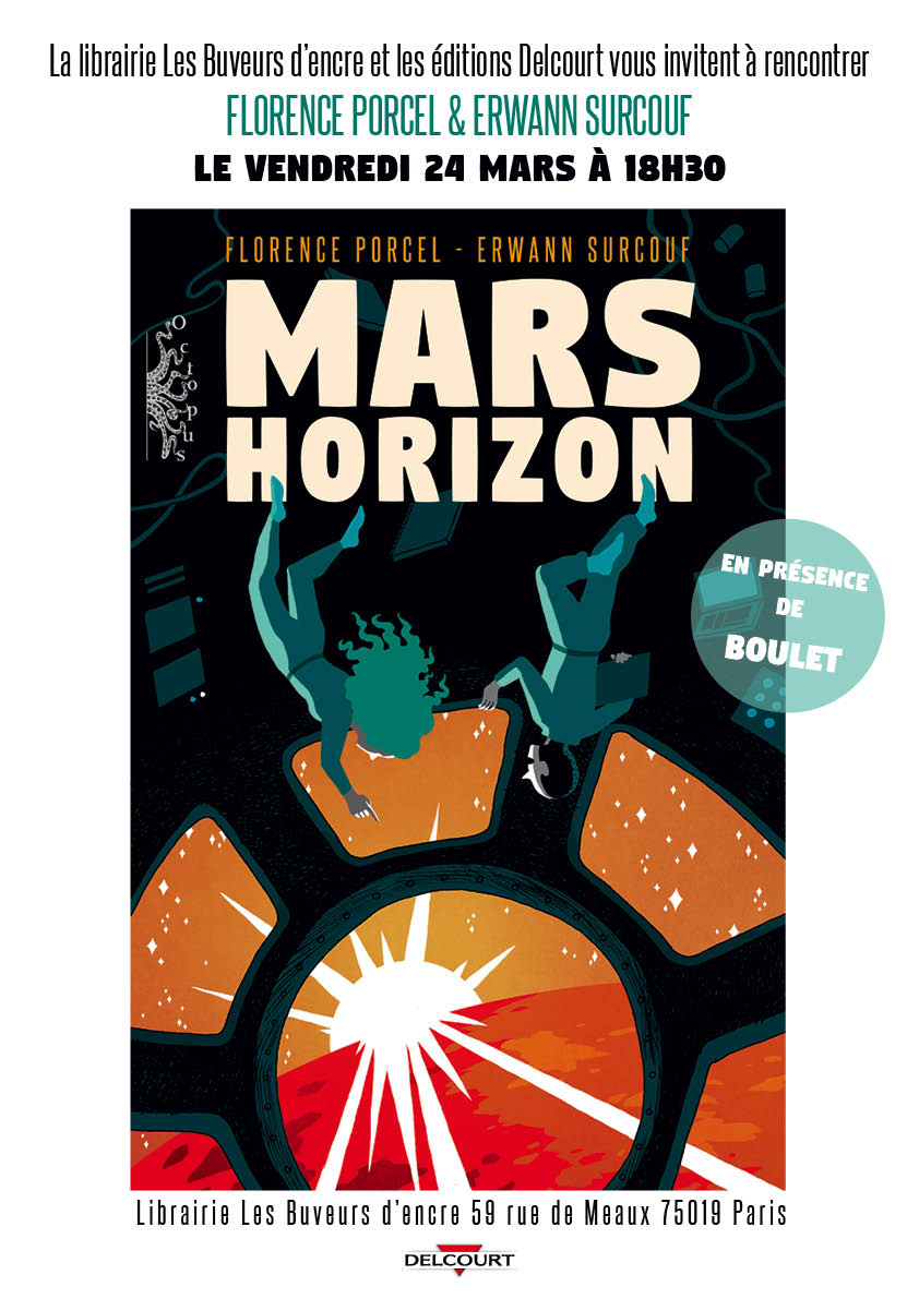 24/03, MARS HORIZON : LA CONQUETE SPATIALE EN BD !