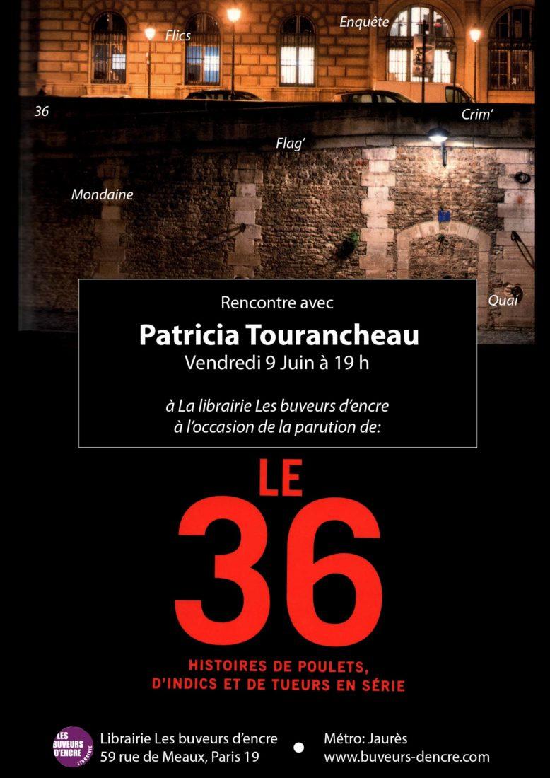 VENDREDI 09/06 RENCONTRE AVEC PATRICIA TOURANCHEAU