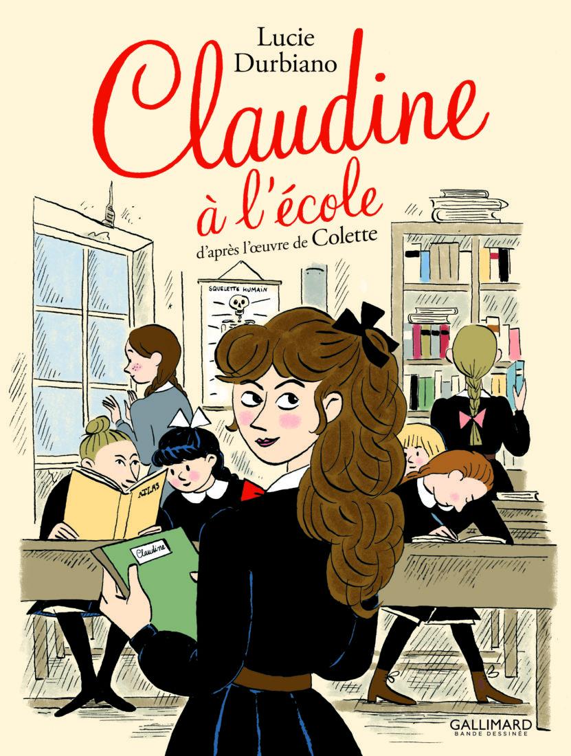 CLAUDINE À L'ÉCOLE – Lucie Durbiano