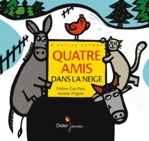Une nuit froide de Noël, un fermier affamé, quatre animaux en fuite, une mamie en quête de compagnie... Un joli conte pour les petits à partir de deux ans dans la lignée des musiciens de Brême.