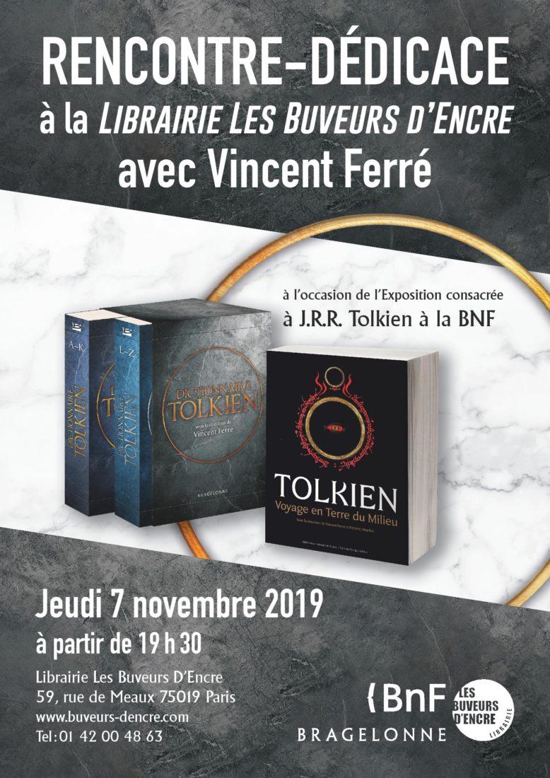 Jeudi 7/11 À la découverte de J. R. R. Tolkien