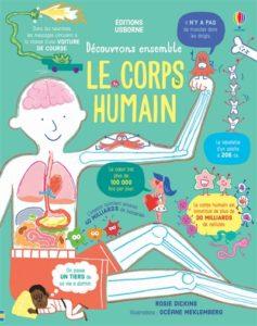 Découvrons ensemble le corps humain, de Rosie Dickins chez Usborne à 12,50€