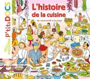 L'histoire de la cuisine du mammouth à la pizza de Stephanie Ledu et Stephane Frattini chez Milan à 14.90€