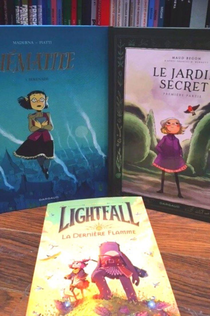 Des romans graphiques pour les enfants