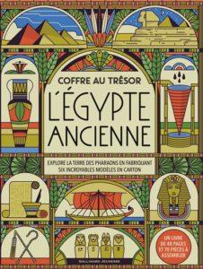 Le coffret au trésor Egypte ancienne de Matthew Morgan chez Gallimard jeunesse, 22.90€