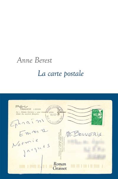 LA CARTE POSTALE – Anne Berest