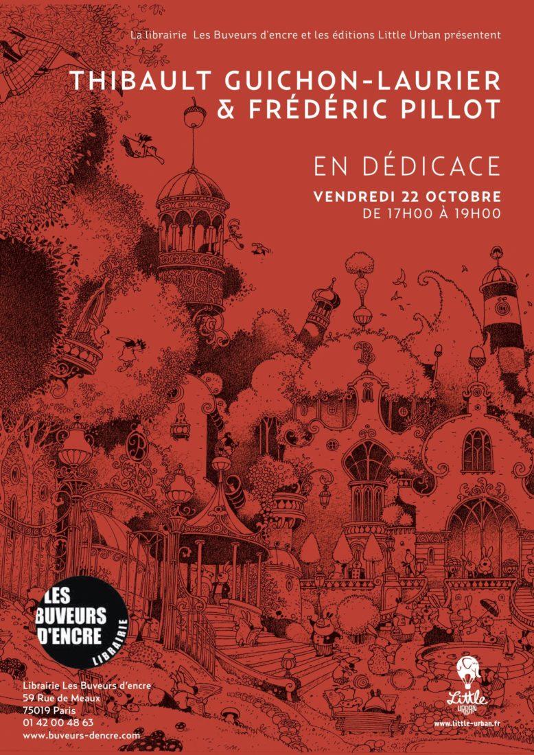 22/10 – DEDICACE JEUNESSE Thibault GUICHON-LAURIER et Frédéric PILLOT
